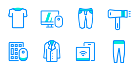E-commerce mall Icon Icons