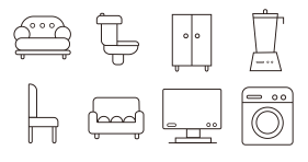 Furniture Icon Icons
