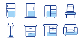 Furniture products Icons