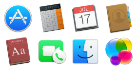 OS X Yosemite Preview Icons