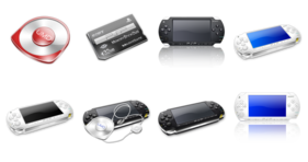Playstation Portable Icons