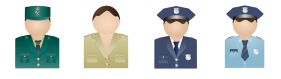 Policemen Icons