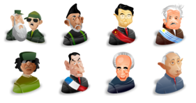 Political Characters Vol. 2 Icons