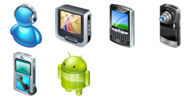 Real Vista Mobile Icons