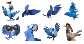 Rio 2 Movie Icons
