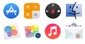 Sevenesque (iOS 7 inspired) Icons