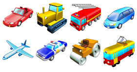 Standard Transport Icons