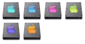 Steel Drives 3.0 Icons