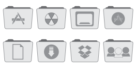 Stock Folder Style 2 Icons