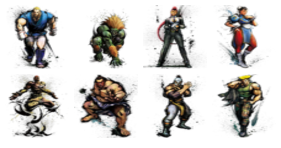 Street Fighter IV Icons