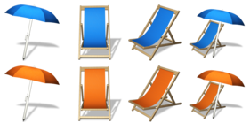 Summer Front Row Icons