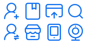 BSS System Icon Library Icons