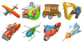 Transport For Vista Icons