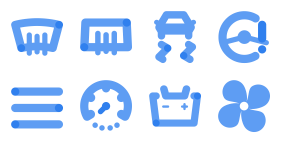 Car function button Icons