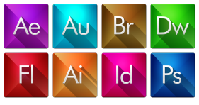 Triangle Adobe Icons