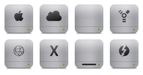 Unibody HD Flurry Style Icons