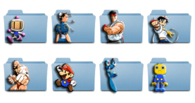 Video Games Characters - Icons Icons