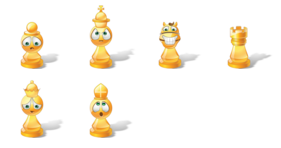 Vista Chess Emoticons Icons