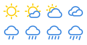 Weather icon Icons