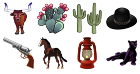 Wild West Vol. 2 Icons