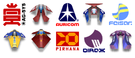 Wipeout 2097 Team Craft Icons